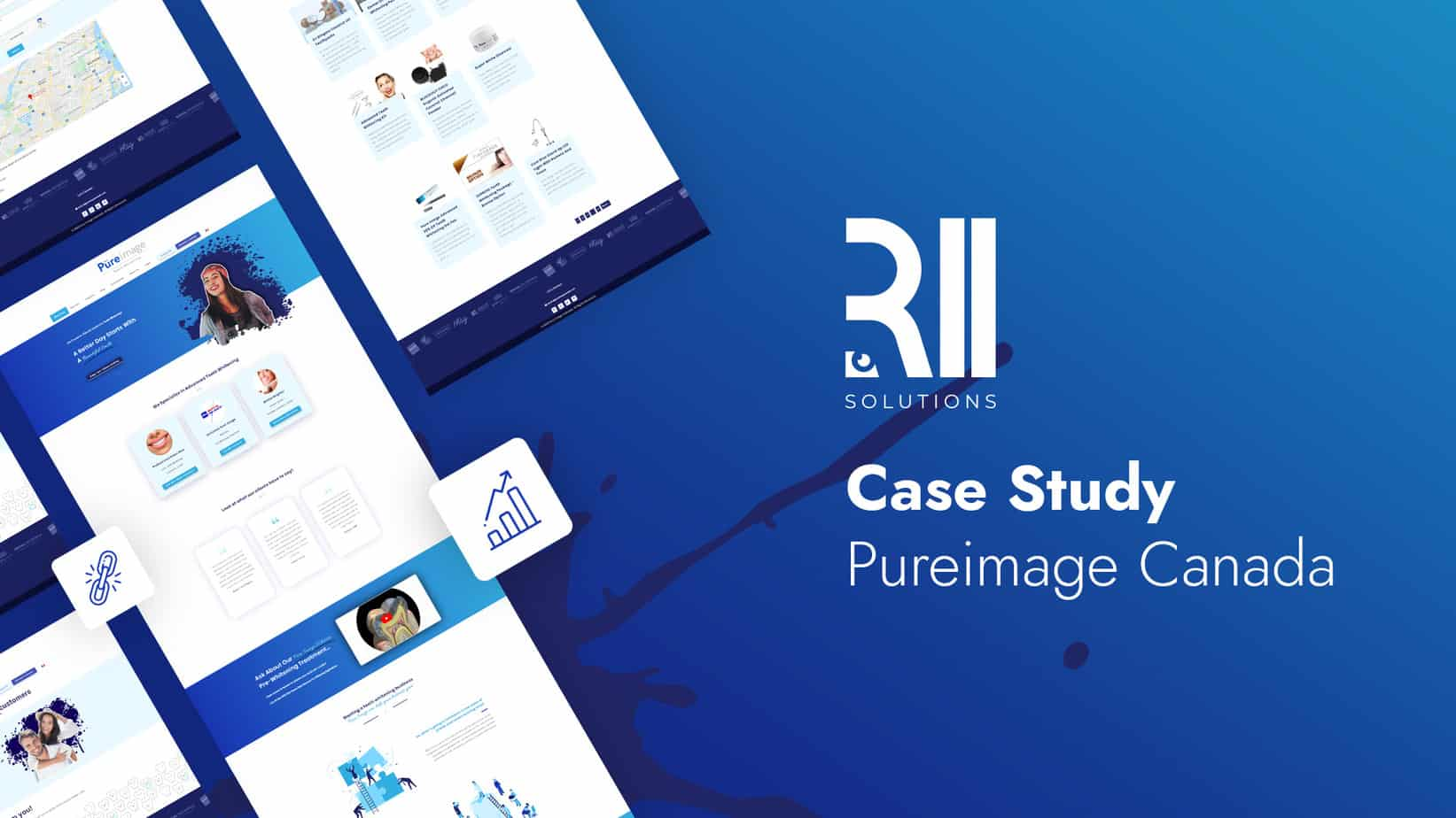 SEO Case-Study Pure Image Canada