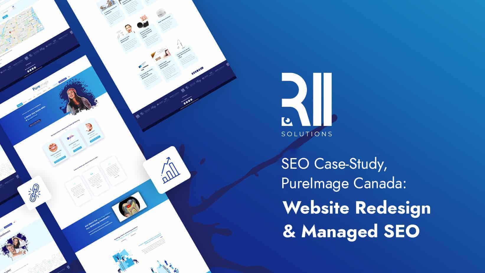 SEO Case-Study, PureImage Canada: Website Redesign & Managed SEO