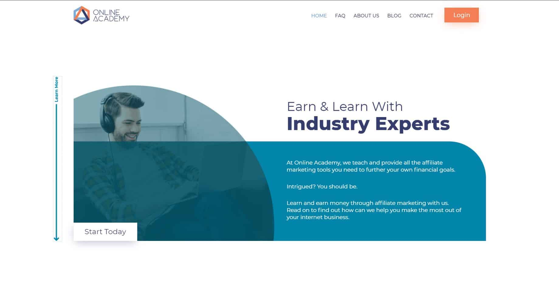 online academy desktop